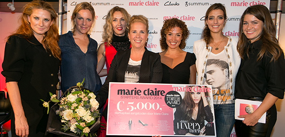 Marie Claire Starters Award 2014 onora