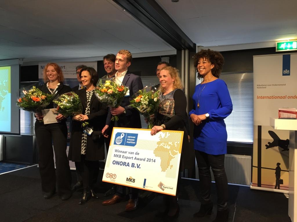 Onora duurzame grafkist winnaar MKB innovatie award
