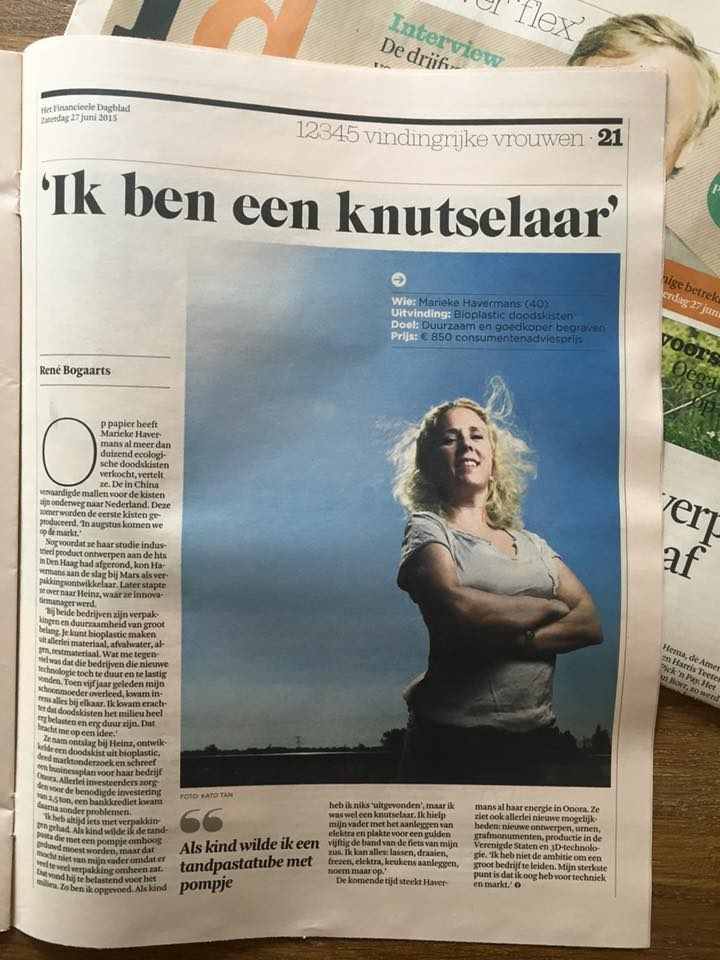 Marieke Havermans Artikel in FD