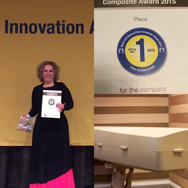 Onora bioplastic coffin winnar composite award Nova Institut